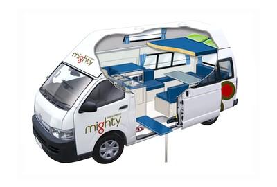 wohnmobil mieten mighty campers australien. Black Bedroom Furniture Sets. Home Design Ideas